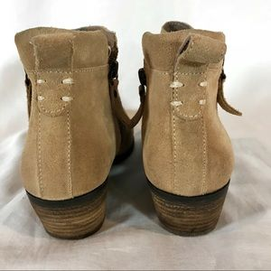 Vince Camuto Shoes - Vince Camuto Tricera Suede Zip Ankle Booties 6.5 M